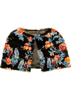 Laundry by Shelli Segal Printed Floral Capelet