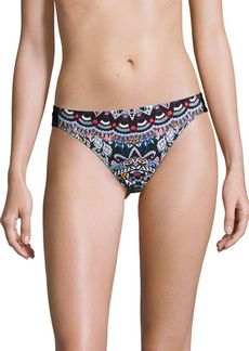 Laundry by Shelli Segal Printed Hipster Swim Bottoms