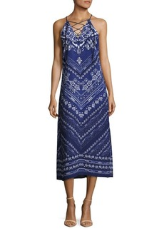Laundry by Shelli Segal Printed Midi Dress