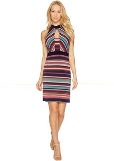 Laundry by Shelli Segal Printed Stripe Sheath Dress