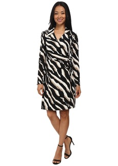 Laundry by Shelli Segal Printed Wrap Dress