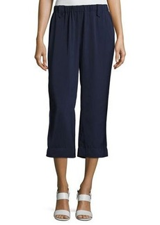 Laundry By Shelli Segal Pull-On Crepe Culotte Pants