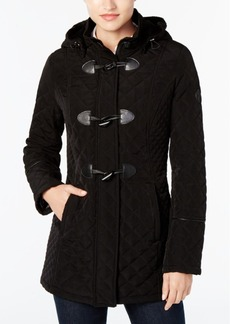 Laundry by Shelli Segal Quilted Toggle Coat