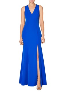 Laundry by Shelli Segal Racerback Cutout Gown