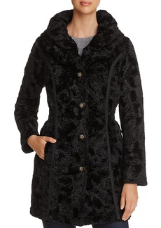 Laundry by Shelli Segal Reversible Faux Shearling & Puffer Coat