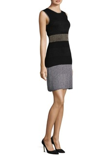 Laundry by Shelli Segal Rib-Knit Sheath Dress