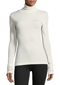 Laundry By Shelli Segal Ribbed Turtleneck Top