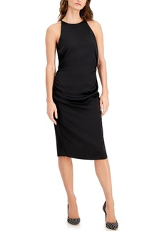 Laundry by Shelli Segal Ruched Bodycon Dress