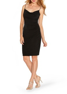 Laundry by Shelli Segal Ruched Jersey Body-Con Dress