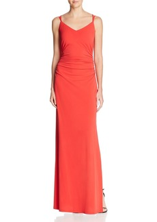 Laundry by Shelli Segal Ruched Jersey Gown - 100% Exclusive