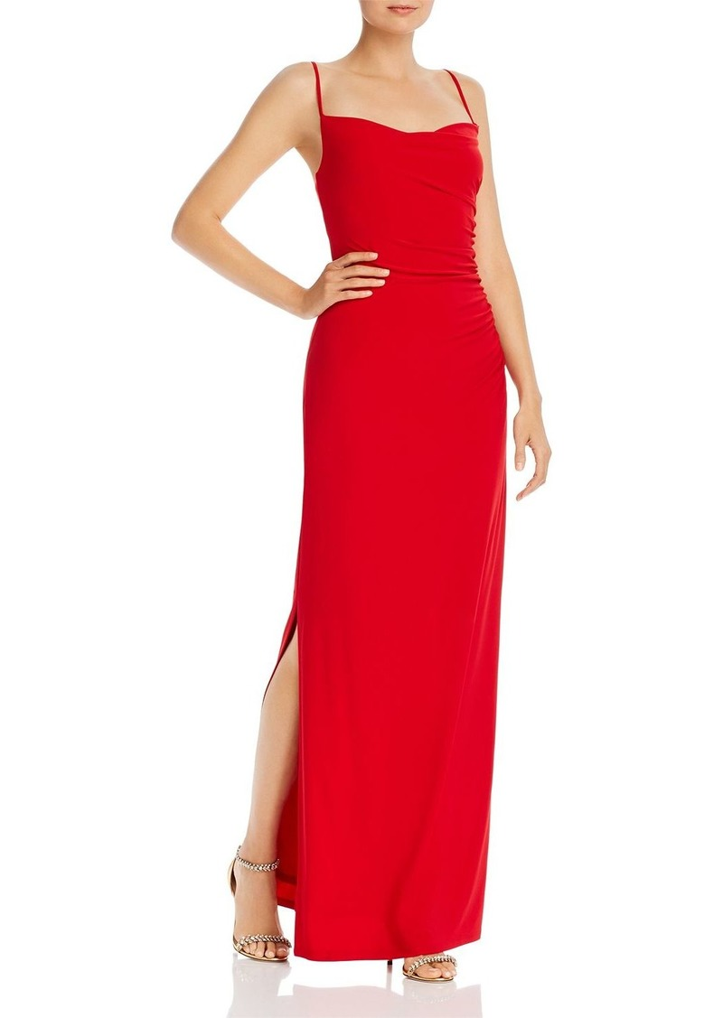 Laundry by Shelli Segal Ruched Jersey Gown
