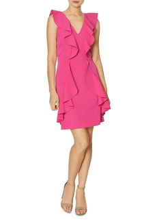 Laundry by Shelli Segal Ruffle Cocktail Dress