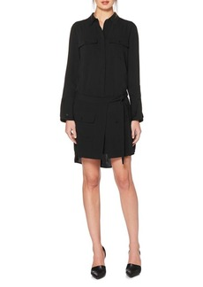 Laundry by Shelli Segal Self-Tie Shirt Dress