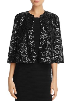 Laundry by Shelli Segal Sequin Capelet
