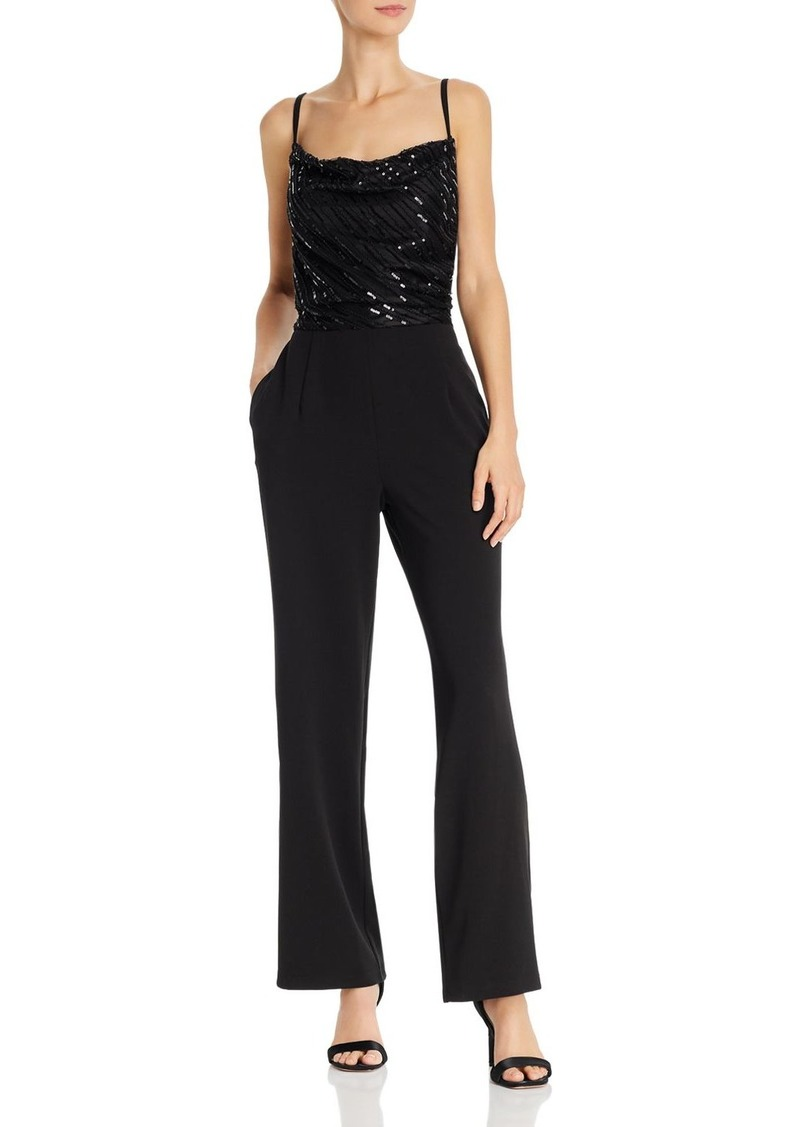 Laundry by Shelli Segal Sequined Jumpsuit - 100% Exclusive