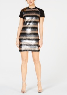 Laundry by Shelli Segal Sequined Shift Dress