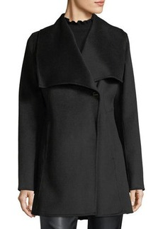 Laundry By Shelli Segal Shawl-Collar Wool-Blend Coat