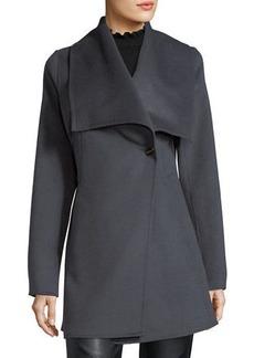 Laundry By Shelli Segal Shawl-Collar Wool-Blend Coat