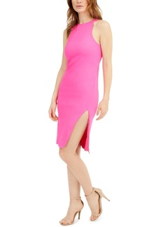 Laundry by Shelli Segal Side-Slit Bodycon Dress