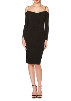 Laundry by Shelli Segal Skinny Strap Knee-Length Dress