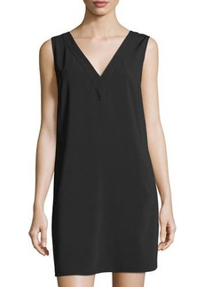 Laundry By Shelli Segal Sleeveless Back-Cutout Shift Dress