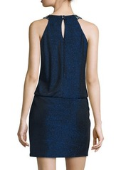 Laundry By Shelli Segal Sleeveless Blouson Cocktail Dress