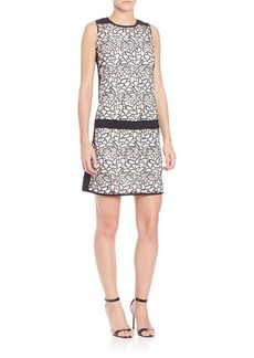 Laundry by Shelli Segal Sleeveless Drop-Waist Dress