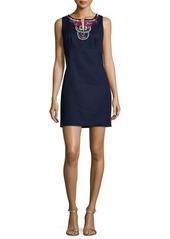 Laundry By Shelli Segal Sleeveless Embellished Sheath Dress