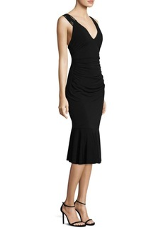 Laundry by Shelli Segal Sleeveless Jersey Dress