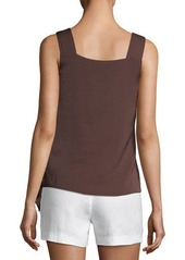 Laundry By Shelli Segal Sleeveless Tie-Front Top