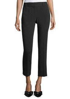 Laundry By Shelli Segal Slim Crepe Ankle Pants