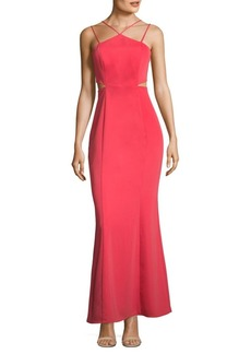 Strappy Sheath Gown