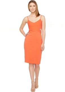 Stretch Crepe Cocktail Dress