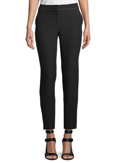 Laundry By Shelli Segal Stretch-Crepe Skinny Pants