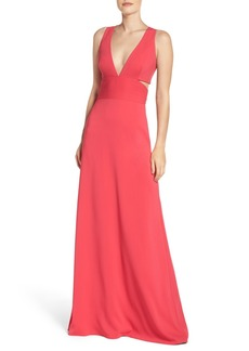 Laundry by Shelli Segal Stretch Gown