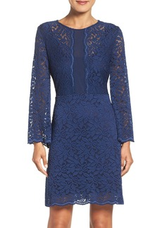 Laundry by Shelli Segal Stretch Lace A-Line Dress