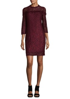 Laundry by Shelli Segal Stretch Lace Dress