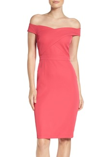 Laundry by Shelli Segal Stretch Sheath Dress