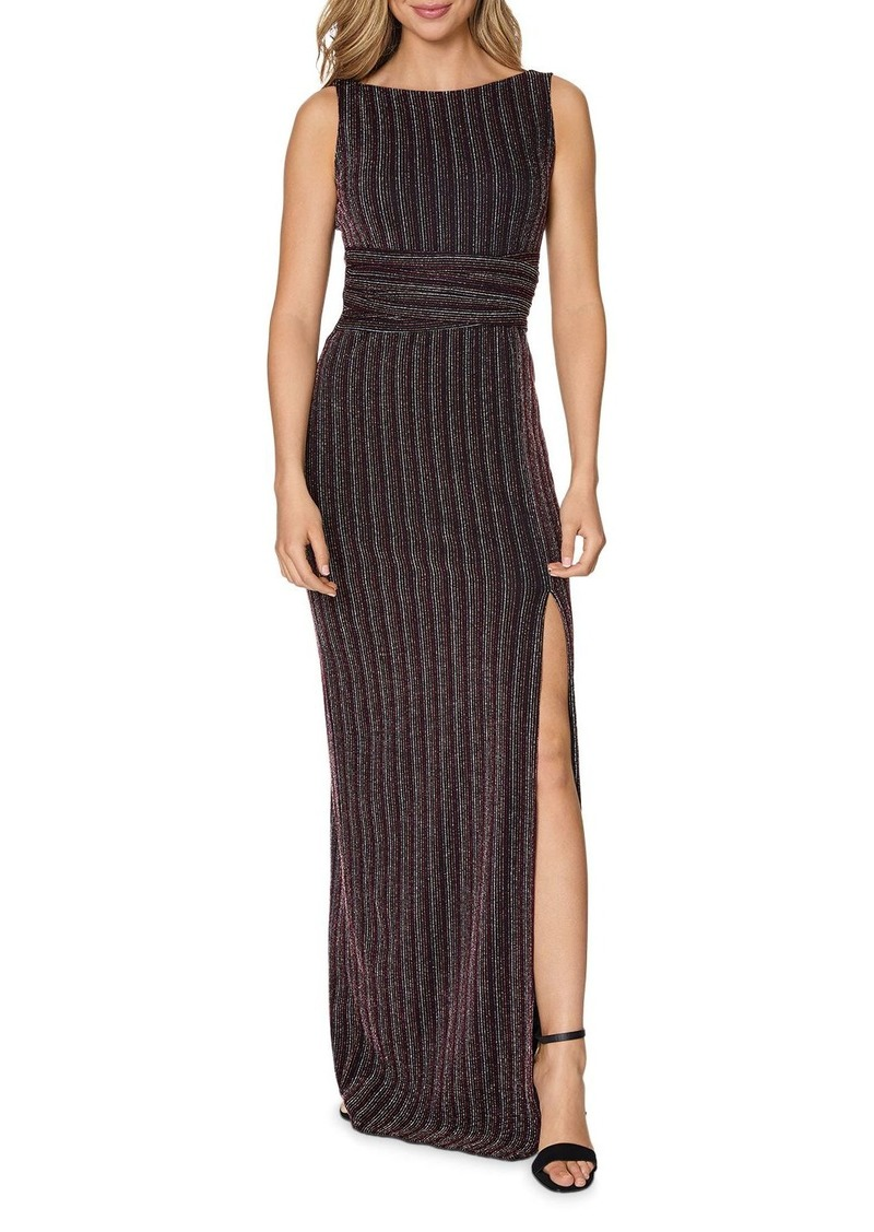 Laundry by Shelli Segal Striped Gown