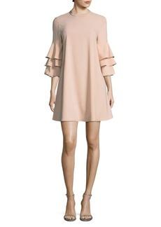 Laundry by Shelli Segal Three-Tier Sleeve Dress