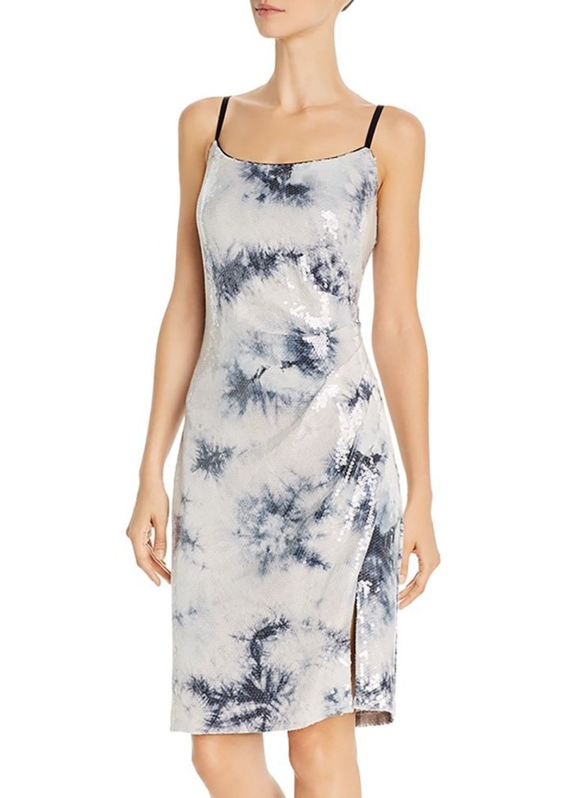 Laundry by Shelli Segal Tie-Dyed-Sequin Dress - 100% Exclusive