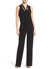 Laundry by Shelli Segal Tie Neck Jumpsuit