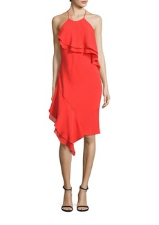 Laundry by Shelli Segal Tiered Cocktail Dress