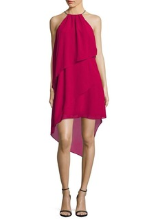 Laundry by Shelli Segal Tiered Hi-Lo Dress