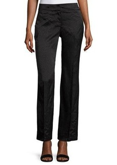 Laundry By Shelli Segal Tonal-Print Wide-Leg Trousers