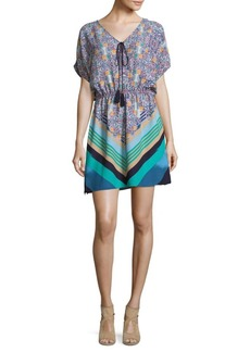 Laundry by Shelli Segal Tropical Printed Mini Dress
