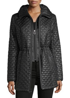 Laundry By Shelli Segal Tulip Mini-Quilted Jacket
