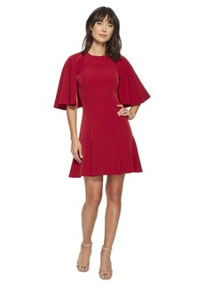 Laundry by Shelli Segal Twill Fit and Flare Dress