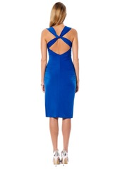 Laundry by Shelli Segal Twist Back Jersey Body-Con Dress