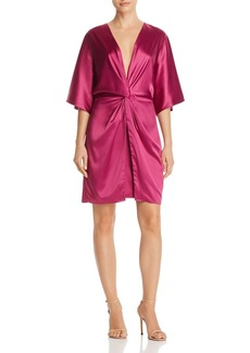 Laundry by Shelli Segal Twist Front Dress